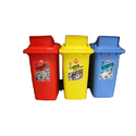Multi Color Dustbin