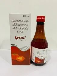 Lycopene With Multivitamin And Multimineral Syrup