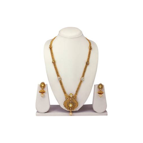Artificial Gold Jewelry & Alloy Jewelry Set Gold Plated Jewellery