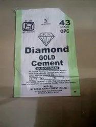 OPC (Ordinary Portland Cement) Diamond Gold Cement, Packaging Type: PP Sack Bag, Cement Grade: Grade 43