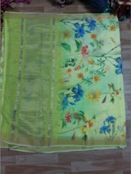 Viscos Digital Printed Silk Saree