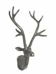 Wall Mount Metal Deer Head Antlers