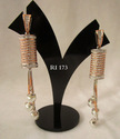 Ri Copper/brass Ad Earrings Set
