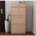 Four Drawer Storage Cabinet