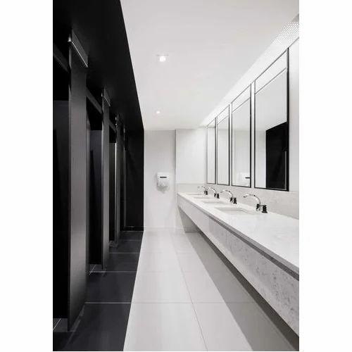 restaurant restroom interior designing services at rs 3000