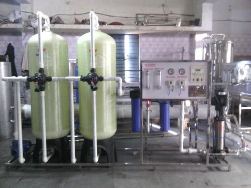 Stainless Steel Industrial RO Plant, 2000-3000