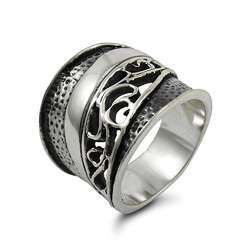 Handcraft Exaggerated 925 Sterling Silver Ring