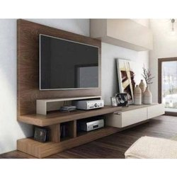 Wall Mounted Wooden LCD TV Cabinet for Residential