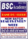 Bank Clerk Exam Coaching Classes Services