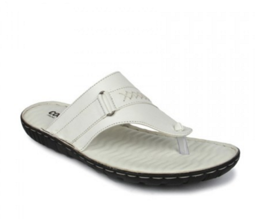 a9ce01548 Coolers Mens White Thong at Rs 1499 | Mens Slippers | ID: 14214997312