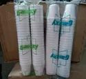 White Plain Thermocol Glass For Event And Party Supplies