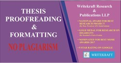 Thesis Proofreading & Formatting
