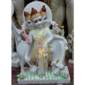 Marble Datt guru statue