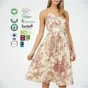 Sustainable Cotton Ladies Casual Dress
