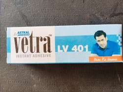 Instent Adheshive, Size/Dimension: 20grams, Model Name/Number: Vitra