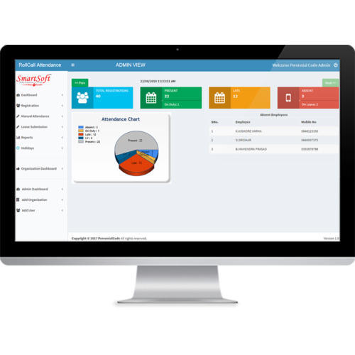 Cloud Based Time Attendance & Employee Portal, For Office