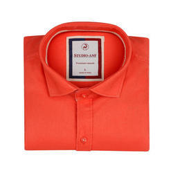 Orange Color Club Wear Shirt