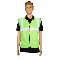 Nova Safe Reflective Safety Jacket 2 inch Cloth, 65GSM