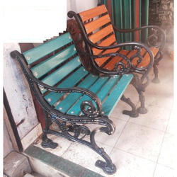 2 Seater Cast Iron Garden Bench