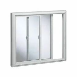 Exterior UPVC Sliding Window, For Home, Residential etc, Glass Thickness: 10 - 25 Mm