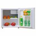 White Metal Mini Refrigerator, 2-10 Degree Celsius