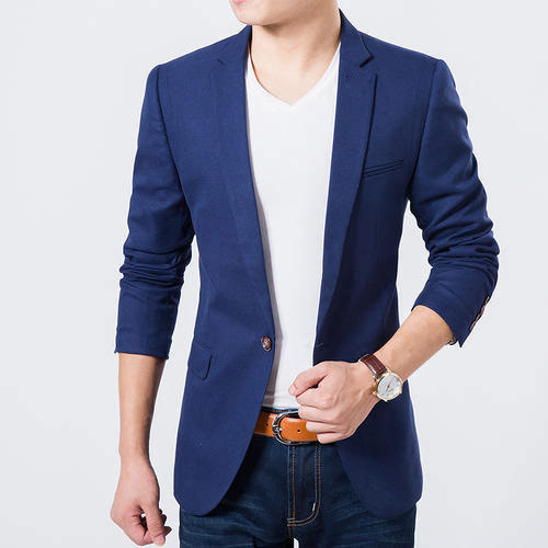 the latest 0f7ad 06f3a Men  s Blue Casual Blazer