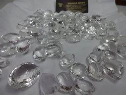 Crystal Quartz Cut Stones,Mix,Big Free Size Faceted Calibrated Loose Gemstone Lot