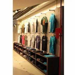 Wall Garment Display Rack