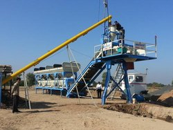 Electric Mobile Concrete Batching Plant