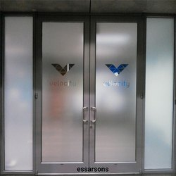 Glossy Frosted Glass, Thickness: 3mm To 19mm