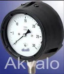 Phenolic Case Pressure Gauge