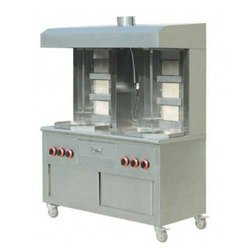 Shawarma Machine Double Rod Vaba Burner