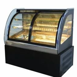 Curved Bakery Showcase Cabinet