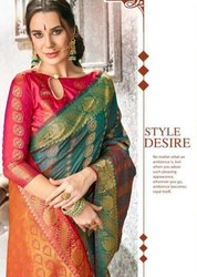 YNF Jharonka Vol-3 Kanjeevarm Silk Saree