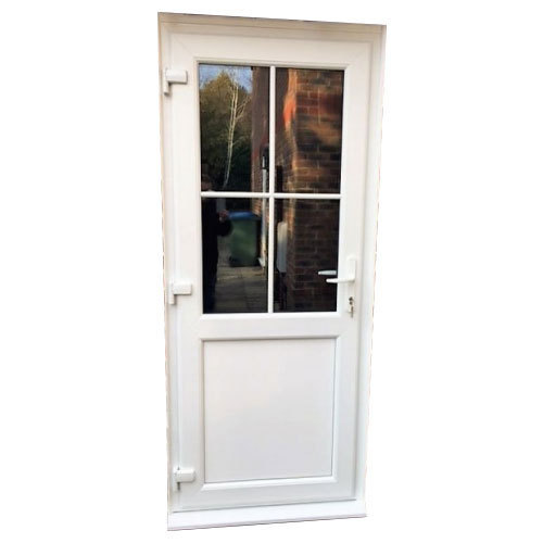 Upvc Sliding Patio Doors >> White Upvc Sliding Patio Door Size Dimension 2 5 X 6 5 Feet Rs