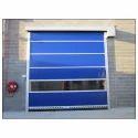 Galvanized Steel Rapid Pvc Doors, Garage