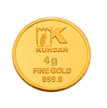 4 Gram Gold Coin 24 KT Kalpataru Tree at Rs 13947/piece | Gold Coins | ID: 19257892412
