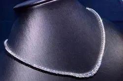 Single Line Colorless Moissanite Diamond Necklace