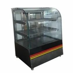Metal SS Hot Case Display Counter, For Restaurant