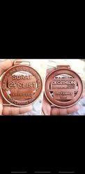 Die Medals Antique Copper