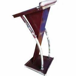 Designer Wooden Podium Stand