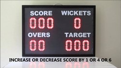 Digital Cricket Score Board