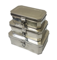 Silver Stainless Steel Pooja Peti / Ss Puja Box For Multi-utility, Thickness: 0.3 Mm