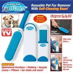 Reusable Washable Pet Fur Lint Brush Hair Remover For Removing Dog Cat Hair From Clothing, Sofa