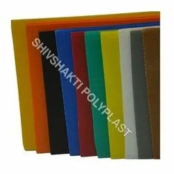 Multicolor Corrugated Plastic Sheet