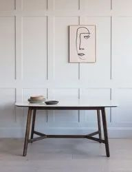 Oval Marble Dinning Table