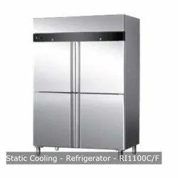 Static Cooling Refrigerator