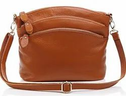 Leather Ladies Sling Bag
