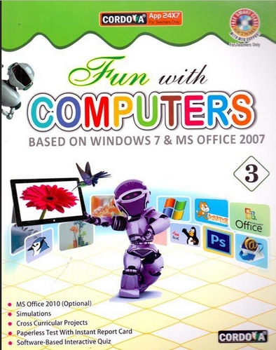 fun with computers class 3 book kids books central books online