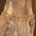 Women Antique Matte Gold Plated South Indian Belt 202386 For Wedding